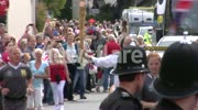 The Olympic Torch in St.Austell