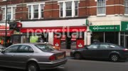Bank robbery at Santander in Tooting