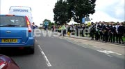Video Taken From Olympic Torch Convoy In Filey