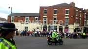 The Olympic Torch Reaches The Yorkshire Market Town Of Selby