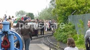 Olympic Torch arrives on Cleethorpes Coast Light Railway