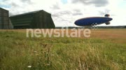 Goodyear Blimp G-HLEL at Cardington Hangers