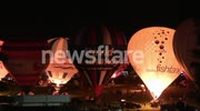Bristol Balloon Fiesta - Saturday Night Glow 11-08-2012 'Relight My Fire'