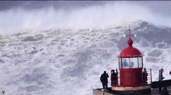 Nazaré - Big Sunday: As Big as it Gets! (2014/Feb/02) NO SOUND