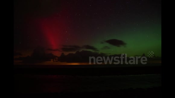Northern Lights in Isle of Man