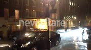 heavy rain hits central London