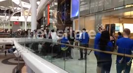 The Massive Queue for the first sales of the iPhone 5 in Westfield Shepherds Bush