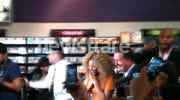 Beyonce & Piers Morgan at Harrods