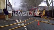 Fire at Alcohols factory, Langley Green, Oldbury