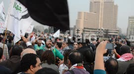 Egyptians march to Tahrir Square