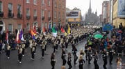 St Patrick's Day Festival Parade In Dublin Today (17 March 2013)