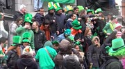 Street Parties Break Out In Dublin For St. Patrick's Day