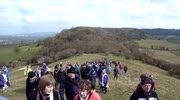 Churches Unite - The Good Friday Walk (Carrying The Cross to Cam Peak) - Dursley