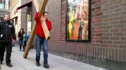 Jesus Crucified In Downtown Minneapolis