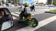 Really cool mini bike in japan