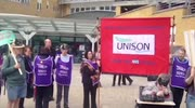 Whittington Hospital Protest