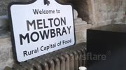 British Pie Awards 2013 - Melton Mowbray Sign and pie ovens