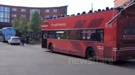 AFTERMATH OF CHELMSFORD BUS CRASH