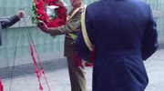 Wreath Laying On Anzac Day In NYC
