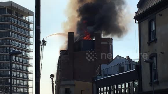 Fire at Student Accommodation Coslton Street Bristol
