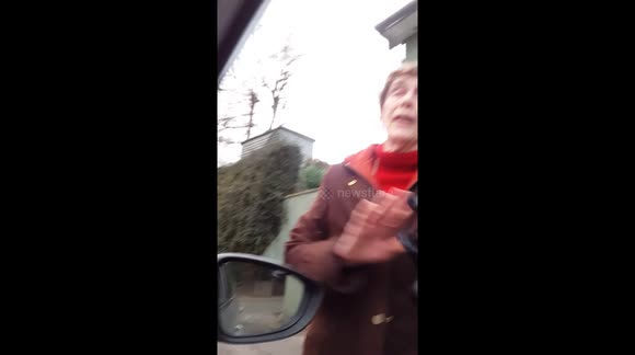The most British road rage incident ever?