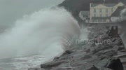 Storm Imogen battering South West England with waves as 'high as houses'