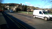 Victoria Bridge in Kendal Cumbria reopens after December floods