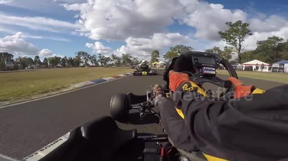 Brakes on go-kart fail at 102 km/h
