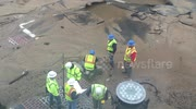 Springfield, MA Water Main Break/ Sinkhole  May 4, 2016 2:26 PM
