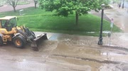 Springfield, MA Water Main Break/ Sinkhole  May 4, 2016 2:29 PM