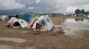 This is what the Idomeni Refugee Camp in Macedonia looks like