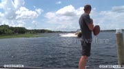 Wakeboard backflip football catch