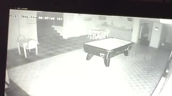 Mysterious orb appears on CCTV camera