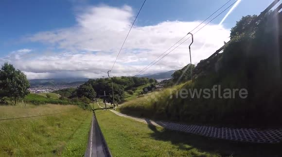 Awesome FPV of Toboggan in Llandudno gopro 1080p