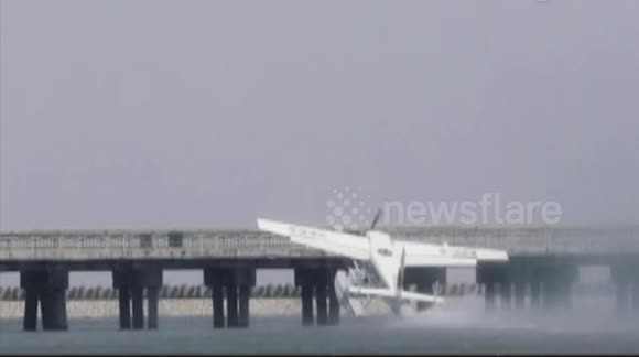 Amphibious aircraft hits bridge in Shanghai, killing five