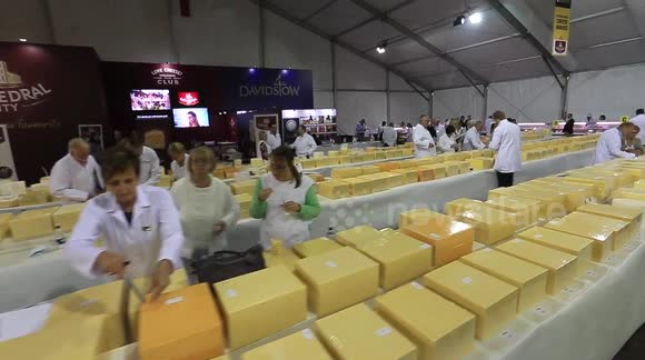 More than 5,000 cheeses on display at the International Cheese Awards