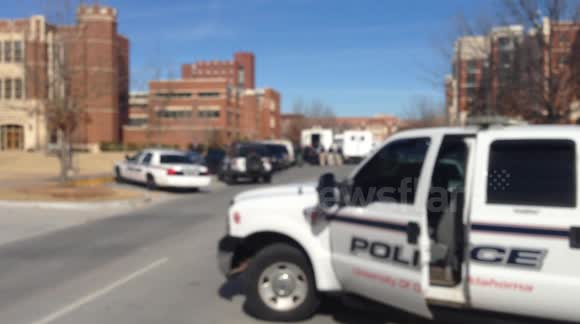shooter on Ou campus