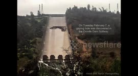 Newsflare - First on site of the Oroville Dam Spillway disaster!