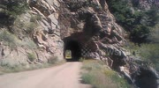 Real Mountain Roads -Tunnel #2 on Phantom Canyon Road