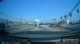 Newsflare - Fatal Big Rig Crash Into Power Pole Causes Lines