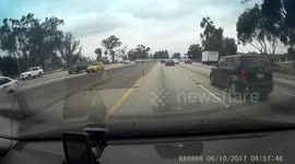 Newsflare - Motorcycle accident South Africa 165 / 170km/h