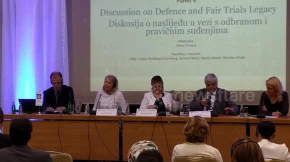 Newsflare - Vasvija Vidovic-Second day of Final ICTY conference
