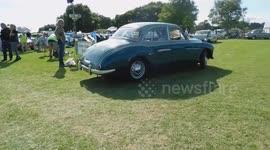 Newsflare Parc Historique Pointe Du Moulin Vintage Car Show July - Car show videos