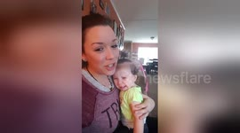 Newsflare - 'People think I have a baby in here': Bird cries like an