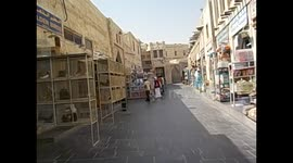 Newsflare - Qatar  Doha  Skycrapers and Souq Waqif, old town  2016