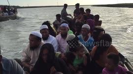 Newsflare - Rohingya refugee fled Myanmar and entered Bangladesh