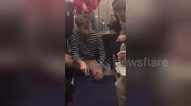 82e21b6b5 Newsflare - Newsflare Edit - A high-stakes bottle flip  Man lands an ...