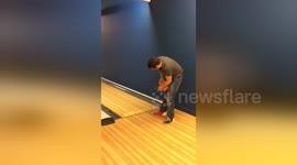 Newsflare - Unique or eunuch? Pinheaded bowling trick ends