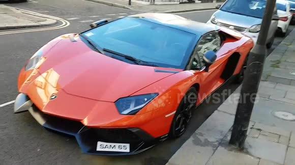 Newsflare Lamborghini Seen In London S Knightsbridge