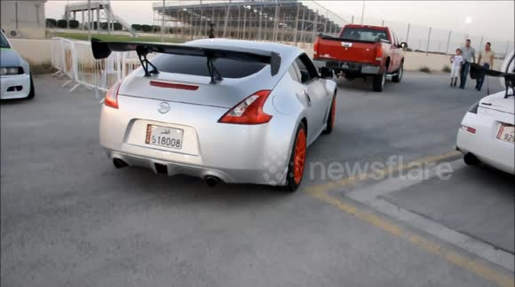 Newsflare - Onboard Drifting - Nissan 370z